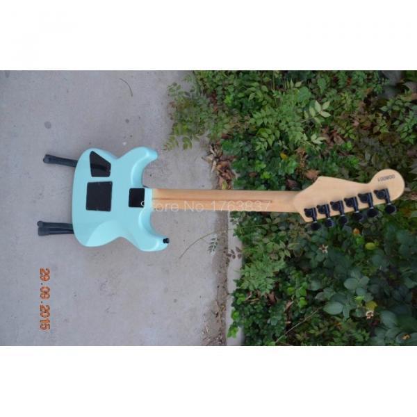 Custom Shop Charvel Dimas Sea Foam Blue Electric Guitar #8 image
