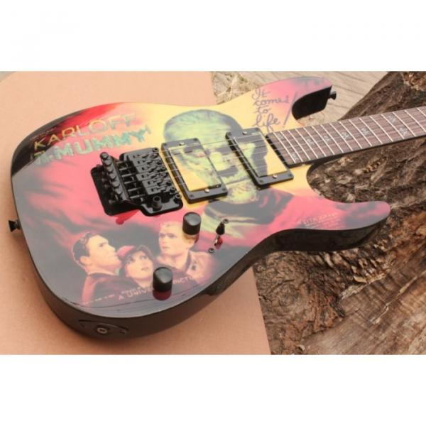 Custom Movie ESP Karloff Mummy Electric Guitar #9 image