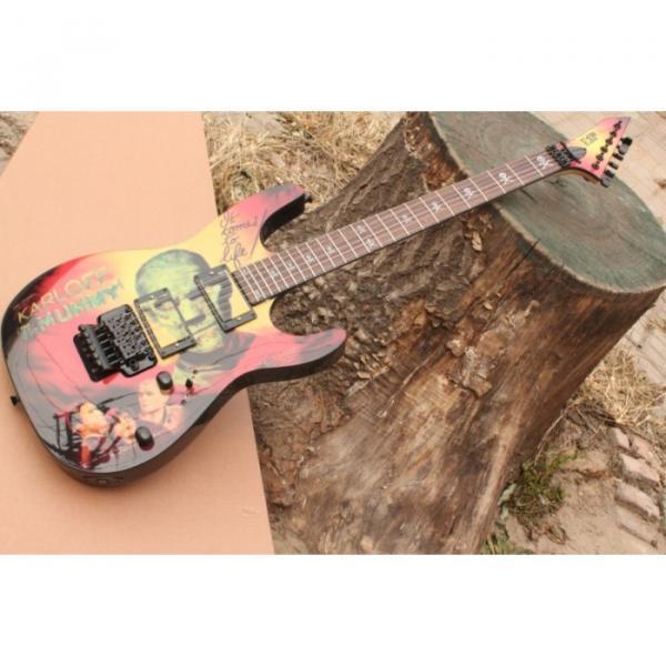 Custom Movie ESP Karloff Mummy Electric Guitar #11 image