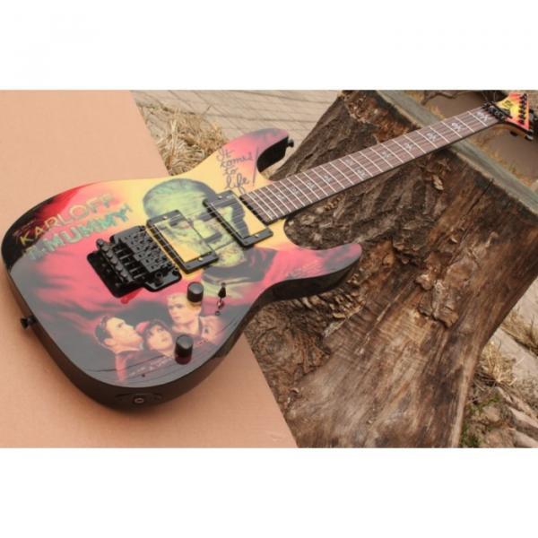 Custom Movie ESP Karloff Mummy Electric Guitar #13 image