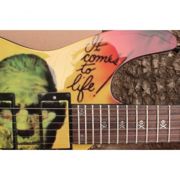 Custom Movie ESP Karloff Mummy Electric Guitar #17 image