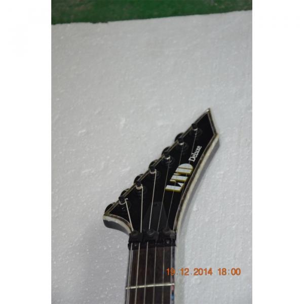 Custom  Shop LTD Gray ESP Electric Guitar #6 image