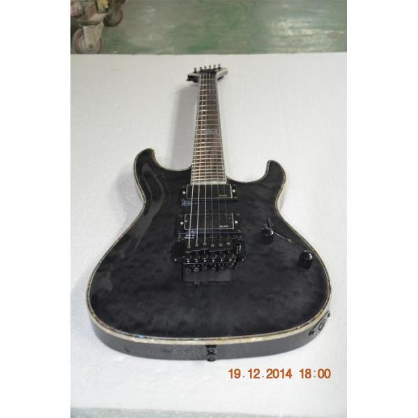 Custom  Shop LTD Gray ESP Electric Guitar #8 image