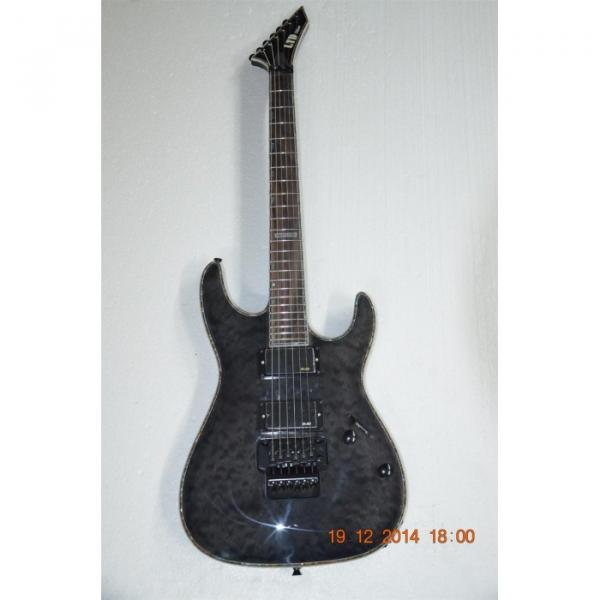 Custom  Shop LTD Gray ESP Electric Guitar #9 image