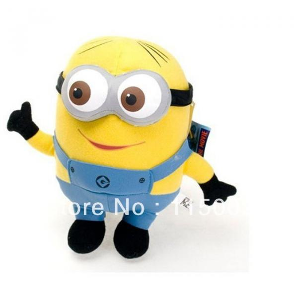 "1 pc Despicable Me Minions 9"" Stuffed Toy #1 image"