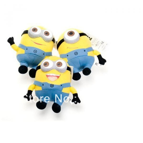"1 pc Despicable Me Minions 9"" Stuffed Toy #2 image"