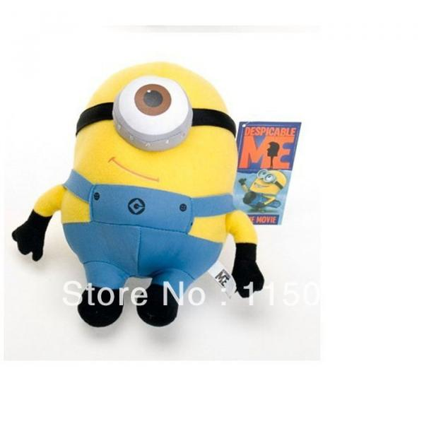 "1 pc Despicable Me Minions 9"" Stuffed Toy #3 image"