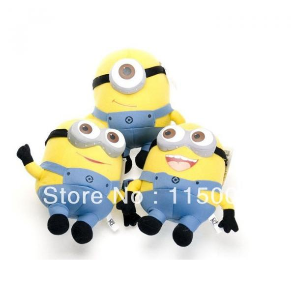 "1 pc Despicable Me Minions 9"" Stuffed Toy #4 image"