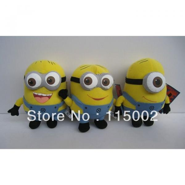 "1 pc Despicable Me Minions 9"" Stuffed Toy #5 image"