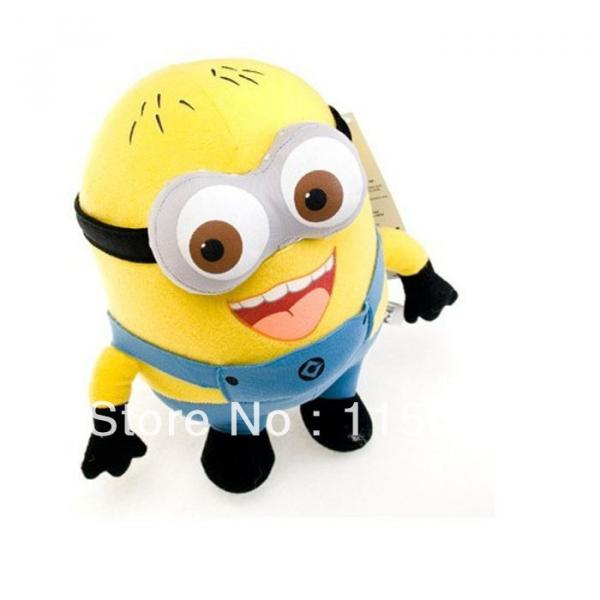 "1 pc Despicable Me Minions 9"" Stuffed Toy #7 image"