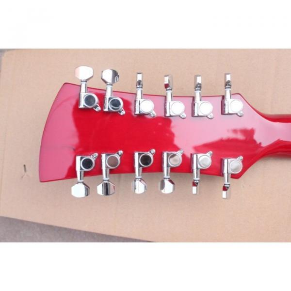 12 Strings Rickenbacker 381 Fireglo Electric Guitar #10 image