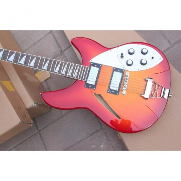12 Strings Rickenbacker 381 Fireglo Electric Guitar #9 image