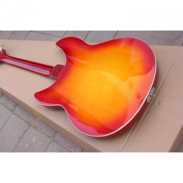 12 Strings Rickenbacker 381 Fireglo Electric Guitar #8 image
