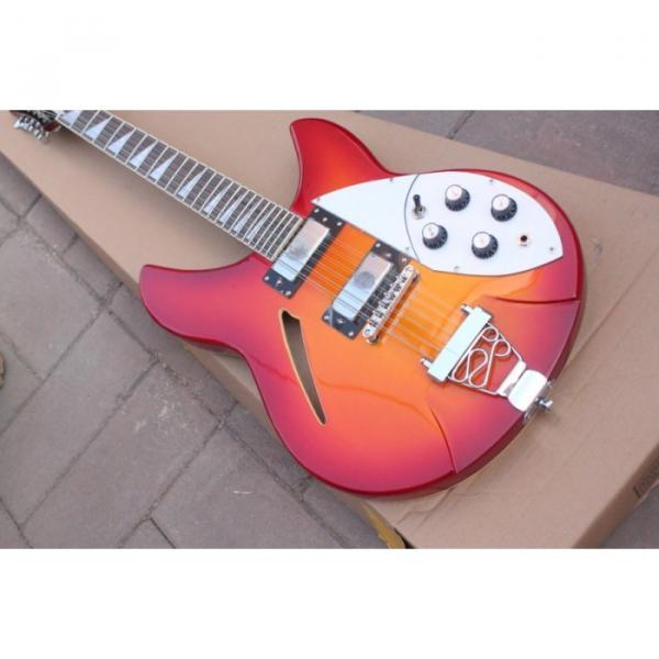 12 Strings Rickenbacker 381 Fireglo Electric Guitar #13 image