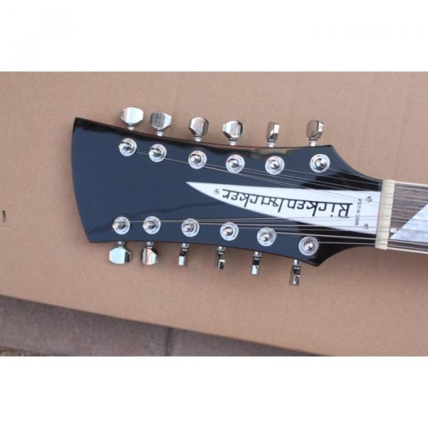 12 Strings Rickenbacker 381 Fireglo Electric Guitar #15 image