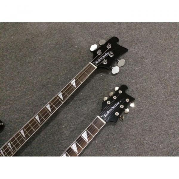 Custom Shop 4080 Double Neck Geddy Lee 4 String Bass 6/12 String Option Guitar #7 image