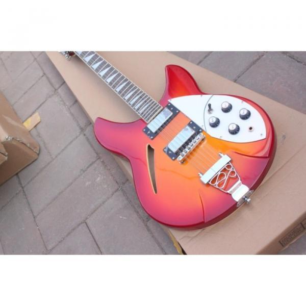 12 Strings Rickenbacker 381 Fireglo Electric Guitar #14 image