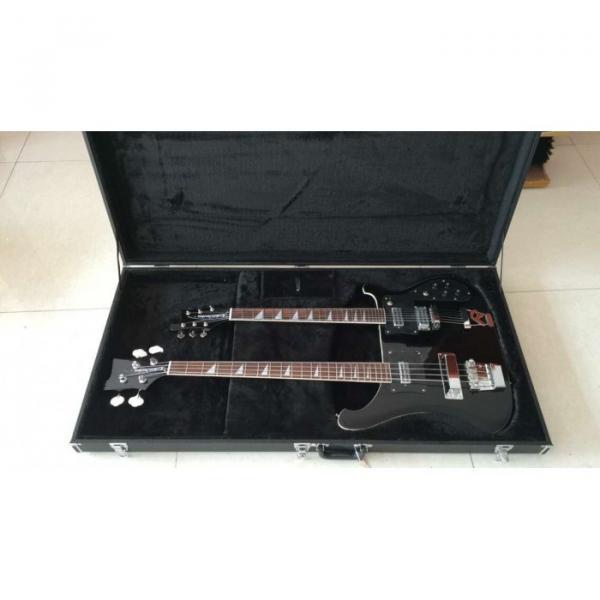 Custom Shop 4080 Double Neck Geddy Lee 4 String Bass 6/12 String Option Guitar #9 image