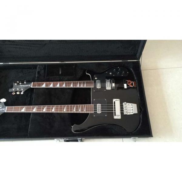 Custom Shop 4080 Double Neck Geddy Lee 4 String Bass 6/12 String Option Guitar #10 image