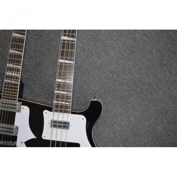 Custom Shop 4003 Double Neck Mike Rutherford of Genesis 4 String Bass 6/12 String Option Guitar #7 image