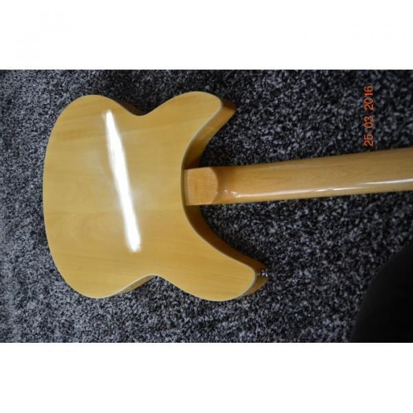 Custom Shop 12 String 340 Natural Electric Guitar #6 image