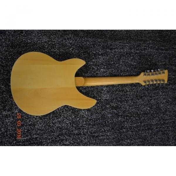 Custom Shop 12 String 340 Natural Electric Guitar #7 image