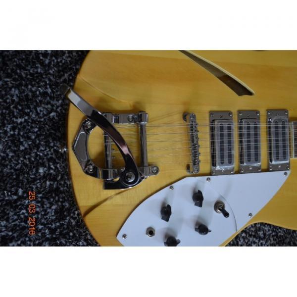 Custom Shop 12 String 340 Natural Electric Guitar #8 image
