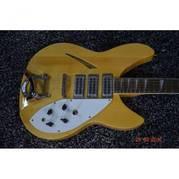 Custom Shop 12 String 340 Natural Electric Guitar #9 image