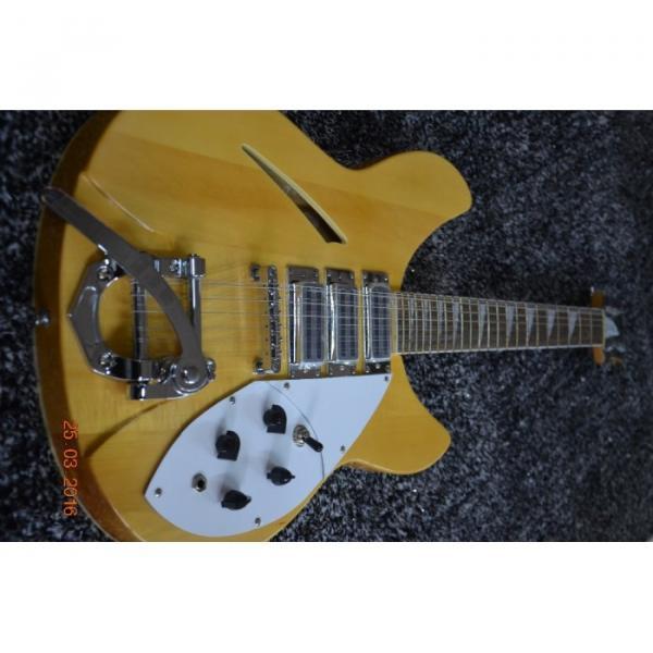 Custom Shop 12 String 340 Natural Electric Guitar #11 image