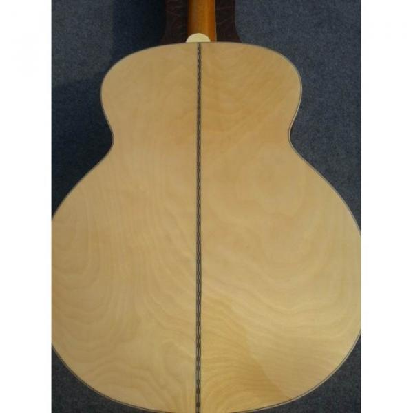 Custom J200 12 Strings Natural Acoustic Guitar #7 image