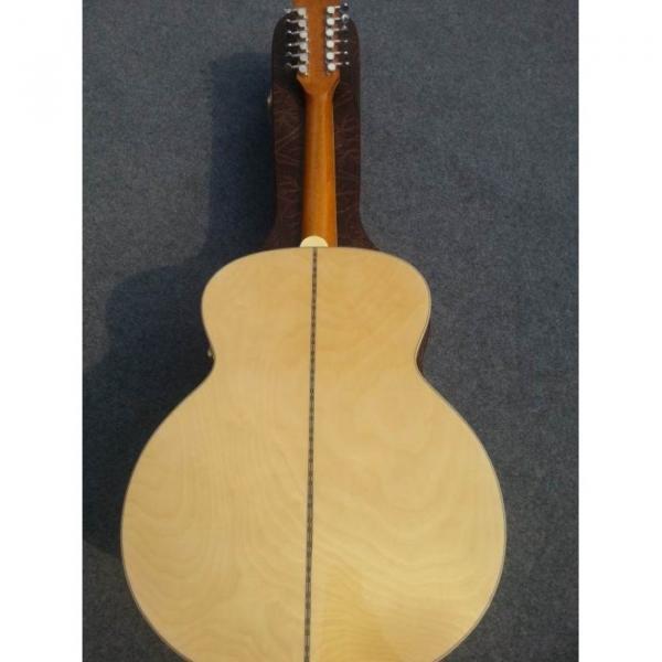 Custom J200 12 Strings Natural Acoustic Guitar #9 image