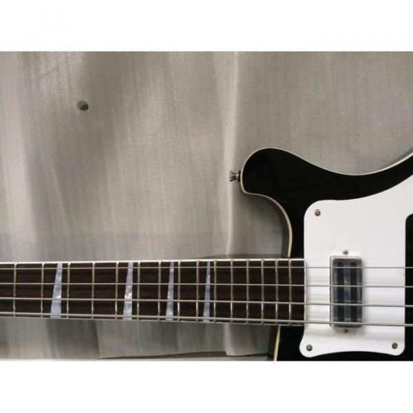 Custom 4003 Double Neck Mike Rutherford of Genesis 4 String Bass 6/12 String Option Guitar #8 image