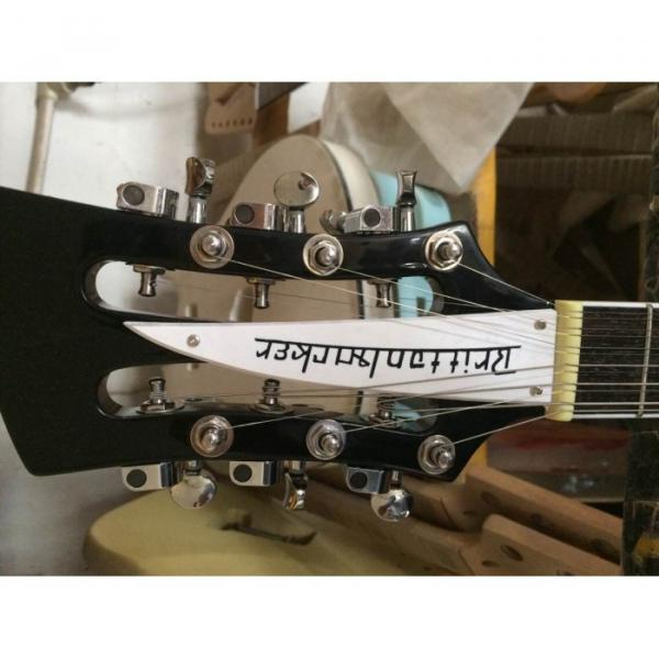 Custom 4003 Double Neck Mike Rutherford of Genesis 4 String Bass 6/12 String Option Guitar #10 image
