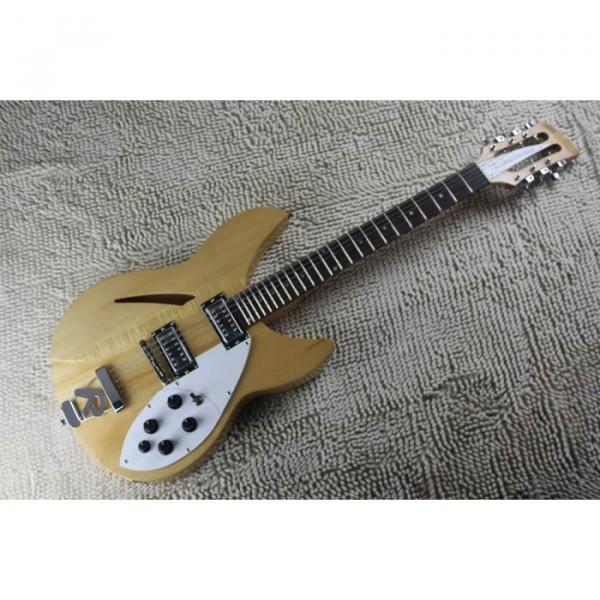 Custom 12 Strings 330 Natural 3 pcs Neck Guitar #1 image