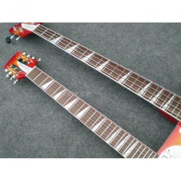 Custom 4003 Double Neck Fireglo 4 String Bass 12 String Guitar #11 image