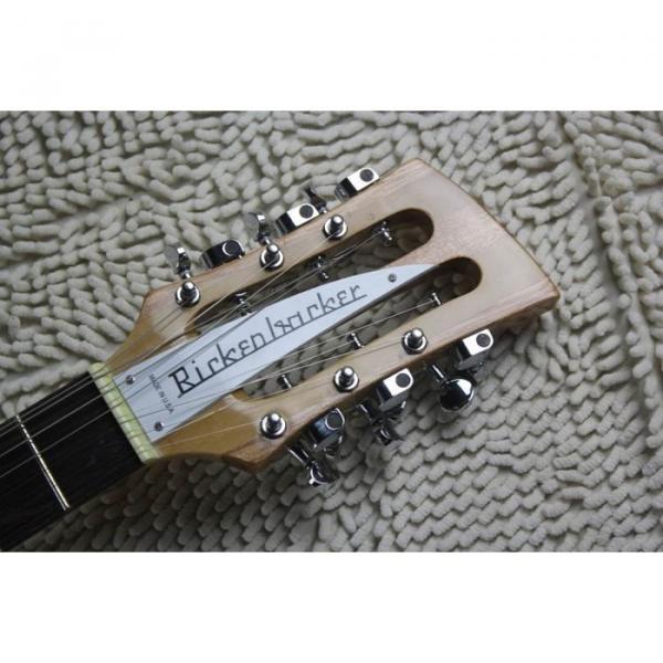 Custom 12 Strings 330 Natural 3 pcs Neck Guitar #5 image