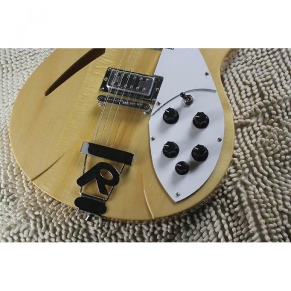 Custom 12 Strings 330 Natural 3 pcs Neck Guitar #8 image