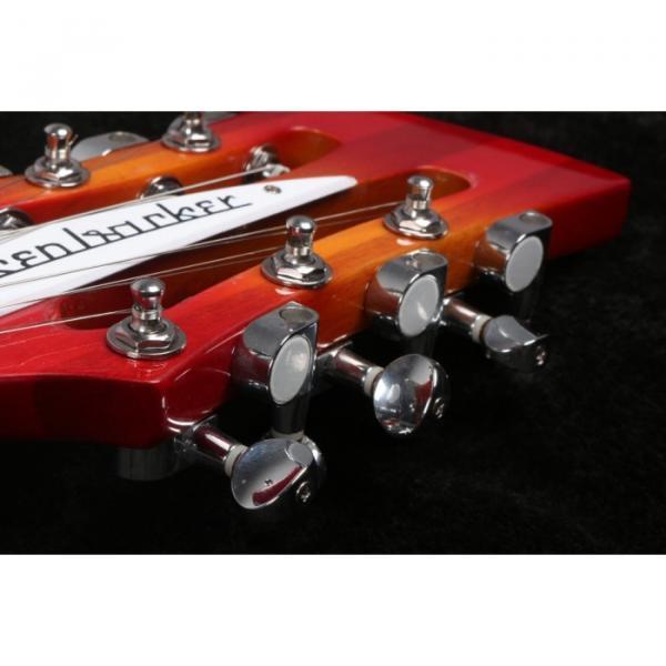 12 Strings Custom 360 2 Pickups Cherry SunBurst Electric Guitar #9 image