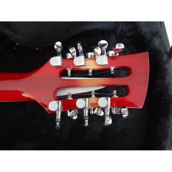 12 Strings Custom 360 2 Pickups Cherry Burst Electric Guitar #6 image