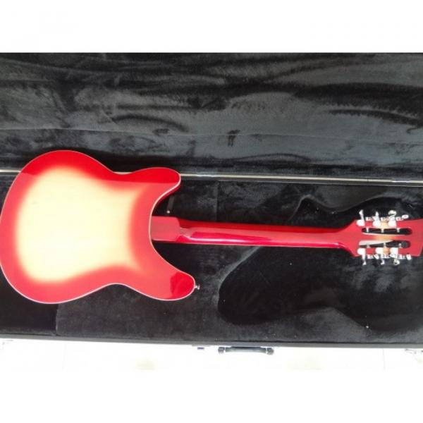 12 Strings Custom 360 2 Pickups Cherry Burst Electric Guitar #9 image