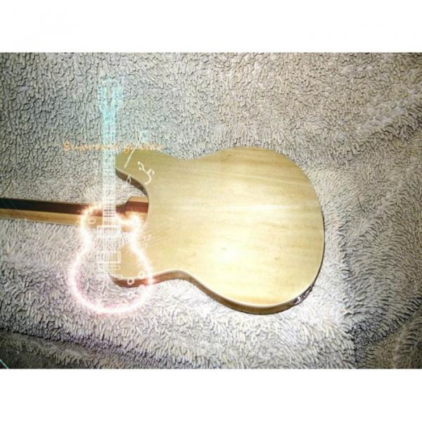 12 Strings Custom 360  3 Pickups Naturalglo Electric Guitar #7 image