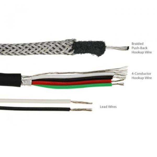 Humbucker Kit With Alnico 2 Magnets And Zebra Bobbins #3 image