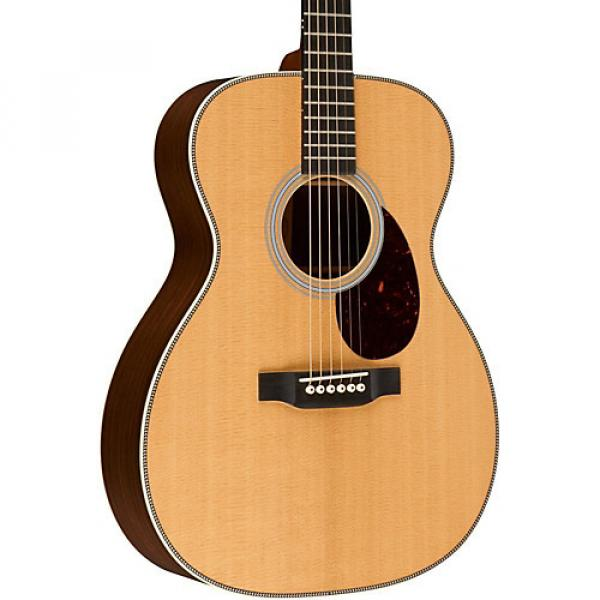 Martin Custom OM-28 with VTS Acoustic Guitar Natural #1 image