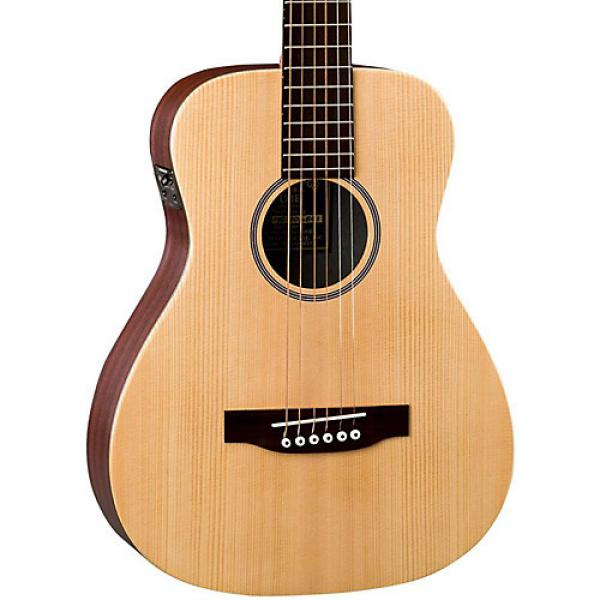 Martin X Series LX1E Little Martin Acoustic-Electric Guitar Natural #1 image