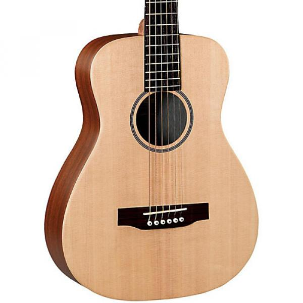 Martin X Series LX1 Little Martin Acoustic Guitar Natural #1 image
