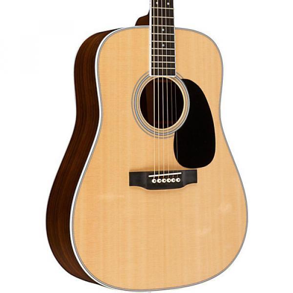 Martin Standard Series Custom D-35E Dreadnought Acoustic-Electric Guitar Natural #1 image