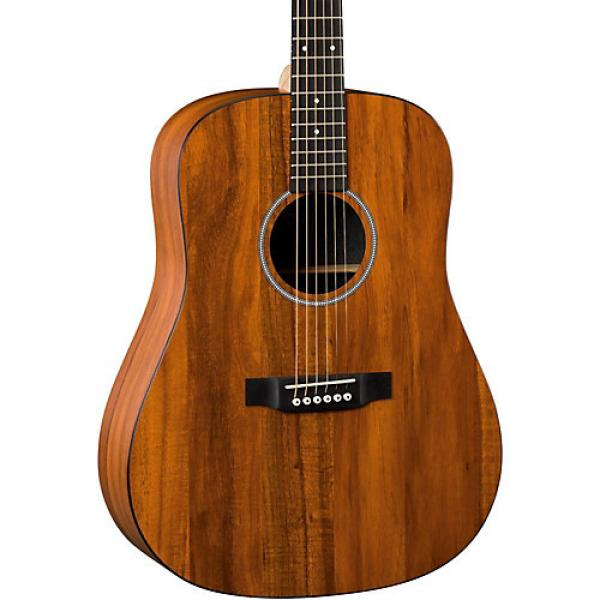 Martin X Series DXK2AE Dreadnought Acoustic-Electric Guitar Natural Koa #1 image