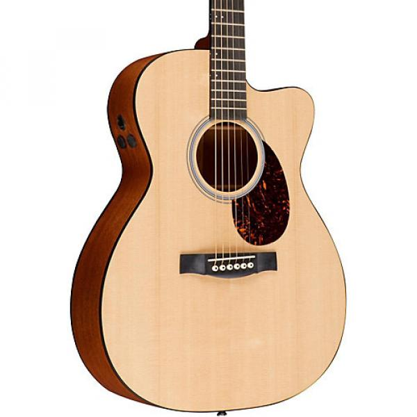 Martin Performing Artist Series OMCPA4 Orchestra Model Acoustic-Electric Guitar Natural #1 image