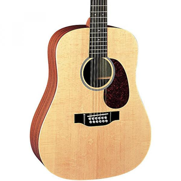 Martin X Series D12X1AE Dreadnought 12-String Acoustic-Electric Guitar Natural #1 image