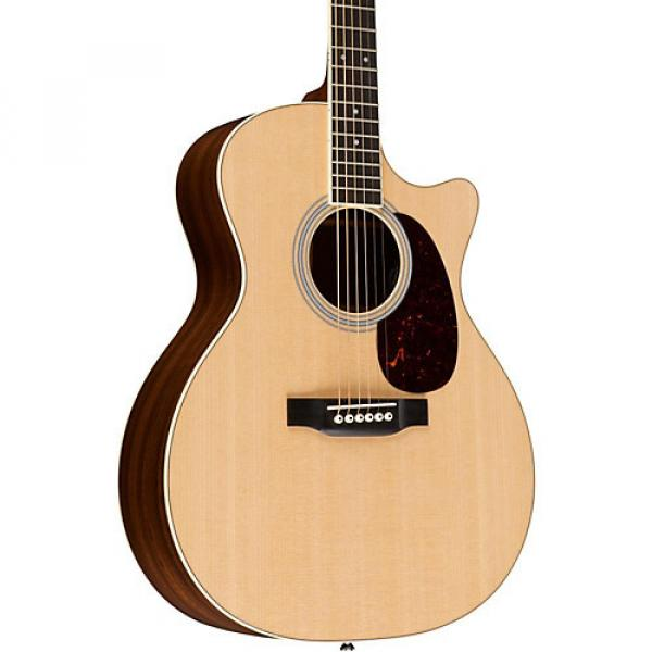 Martin Custom GPC-MMVE Grand Performance Acoustic-Electric Guitar Natural #1 image